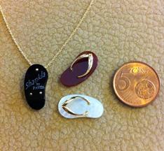 Shankla Jewelry Pendant Size